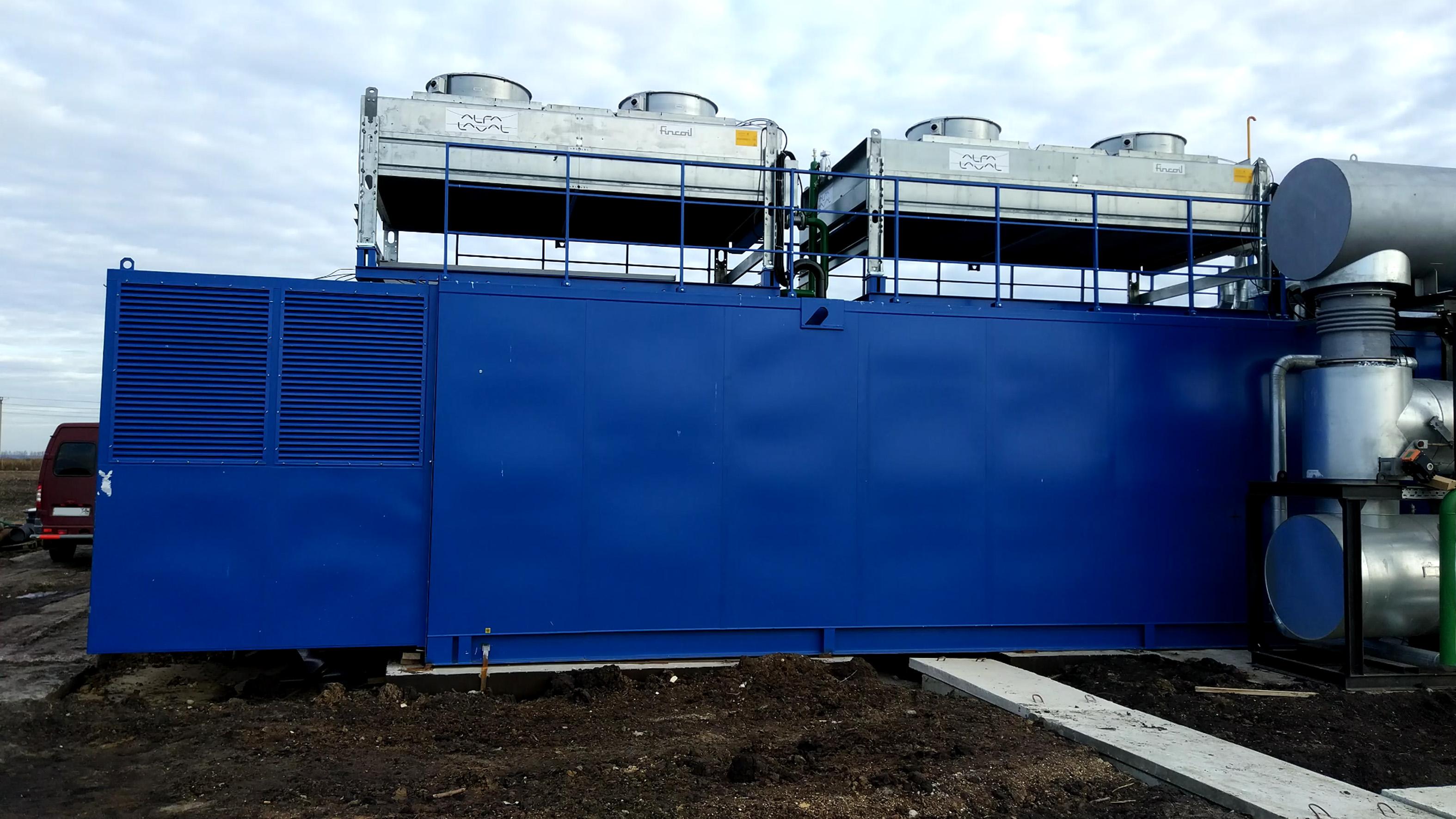 Газопоршневая установка TCG2020V20 MWM GmbH