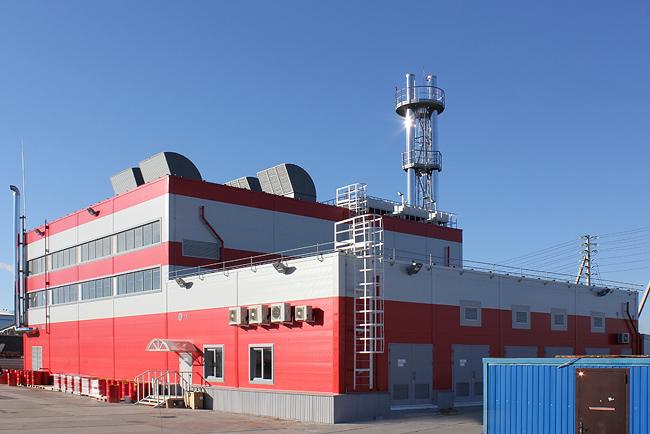 Энергоцентр распределительного центра Магнит Дзержинск Нижегородской области.