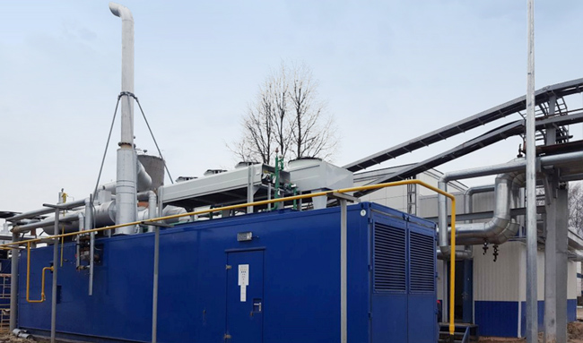 Газопоршневые агрегаты ТЭЦ мощностью 1,5 МВт под ключ для российских заказчиков